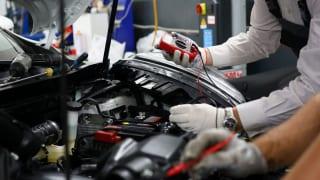 「特定技能」自動車整備のイメージ
