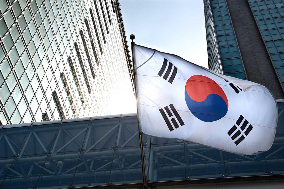 韓国とその国旗
